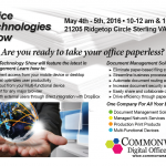 Office Technologies Show May 4 & 5 in Sterling, VA